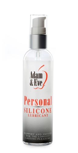 Adam & Eve Personal Silicone Lubricant 4OZ
