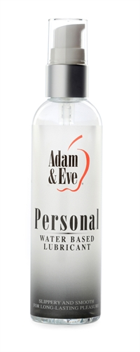 Adam & Eve Personal Water-Based Lubricant 4OZ