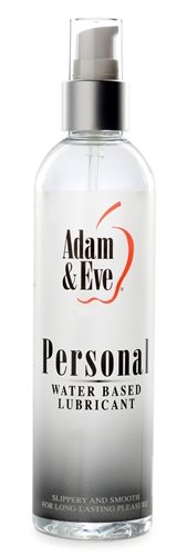 Adam & Eve Personal Water-Based Lubricant 8OZ