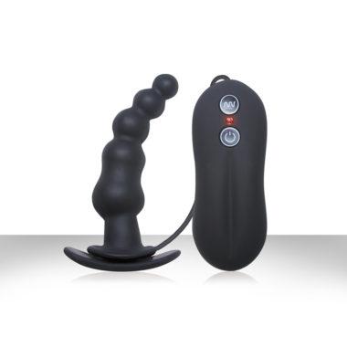 Tinglers Vibrating Anal Plug I Black