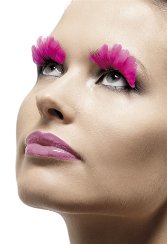 Fever Lingerie Eyelashes Feather Pink