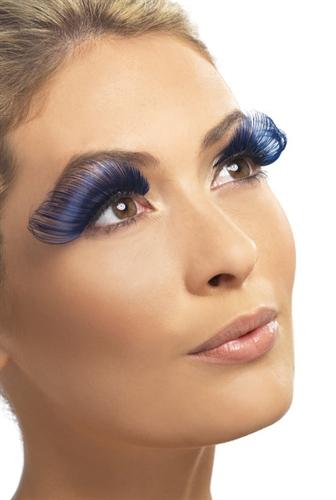Fever Lingerie Eyelashes Very Long Blue