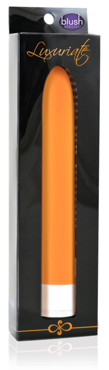 Blush Novelties Luxuriate Vibrator Tangerine