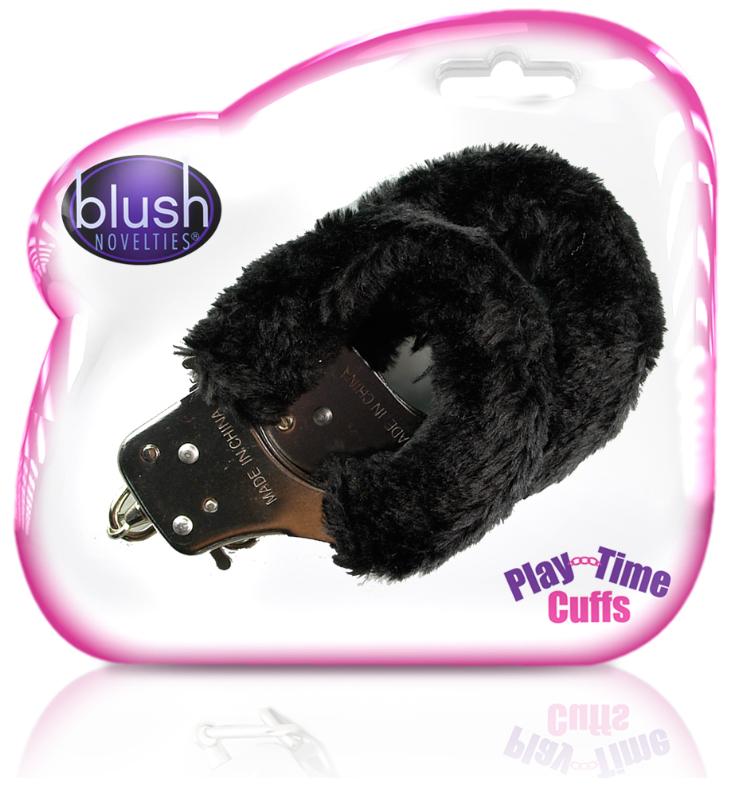 Blush Novelties Play Time Cuffs Black