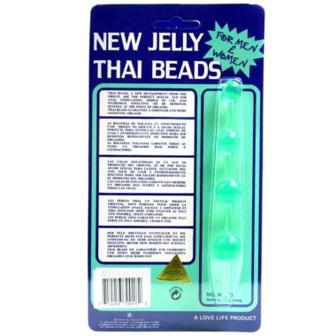 Golden Triangle New Jelly Thai Beads Green