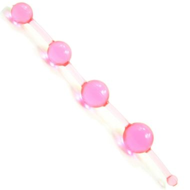 Golden Triangle New Jelly Thai Beads Pink