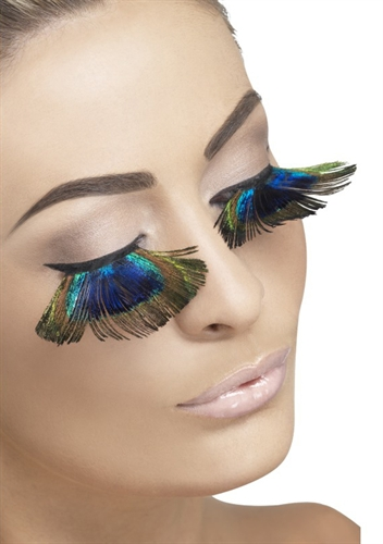 Fever Lingerie Peacock Eyelashes