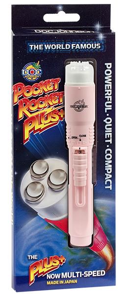 Doc Johnson Pocket Rocket Plus Pink