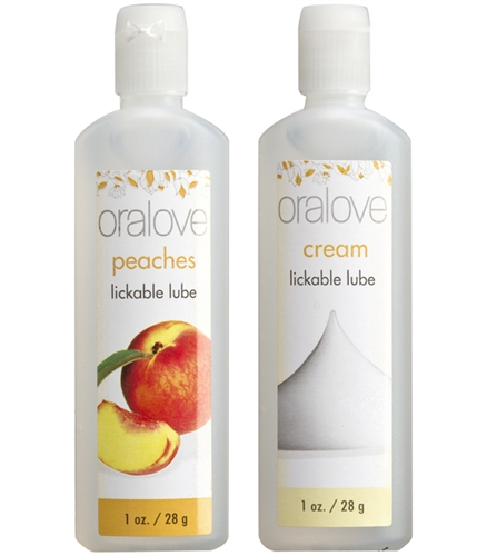 Doc Johnson Oralove Dynamic Duo Peaches & Cream