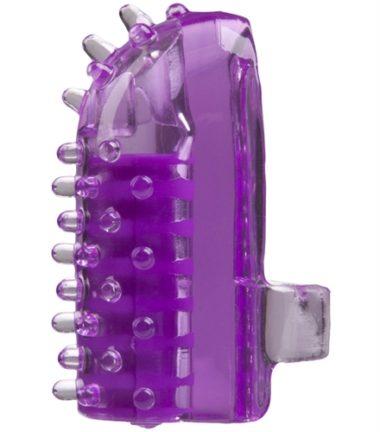 Doc Johnson Oralove Finger Friend Vibe Purple