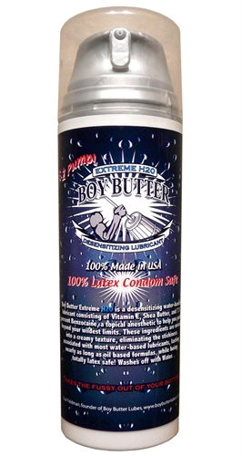 Boy Butter Extreme H2O Desensitizing Lubricant