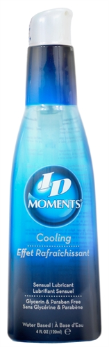 ID Moments Cooling Water-Based Lubricant 4oz