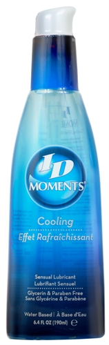 ID Moments Cooling Water-Based Lubricant 6.4oz