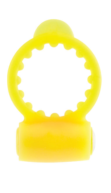 Pipedream Neon Vibrating Cockring Yellow
