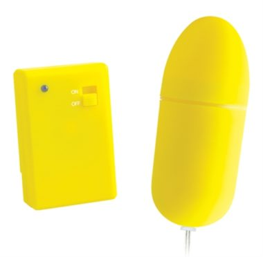 Pipedream Neon Luv Touch Remote Control Bullet Yellow