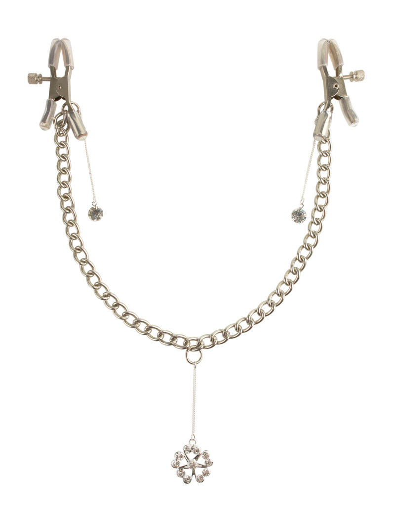 Pipedream Fetish Fantasy Crystal Nipple Clamps