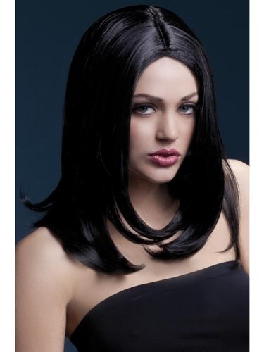 Fever Lingerie Sophia Wig Black