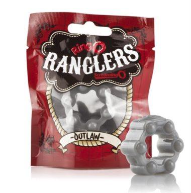 Screaming O Ringo Ranglers Outlaw Cockring Silver