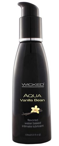 Wicked Sensual Care Aqua Vanilla Bean Water-Based Lubricant