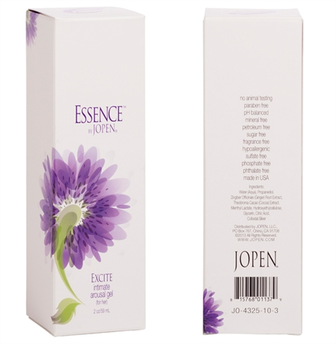 Jopen Essence Excite Intimate Arousal Gel For Her