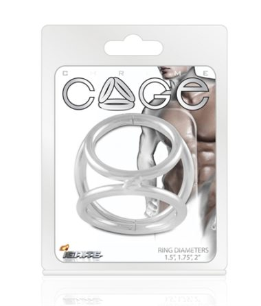 Ignite Cockrings Chrome Cage