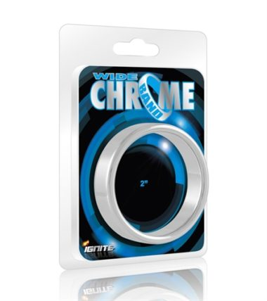 Ignite Cockrings Wide 2 Chrome Band