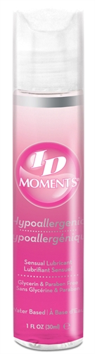 ID Moments Water-Based Lubricant
