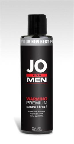 System JO For Men Warming Premium Silicone Lubricant