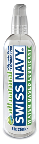 Swiss Navy All Natural Lubricant 8oz