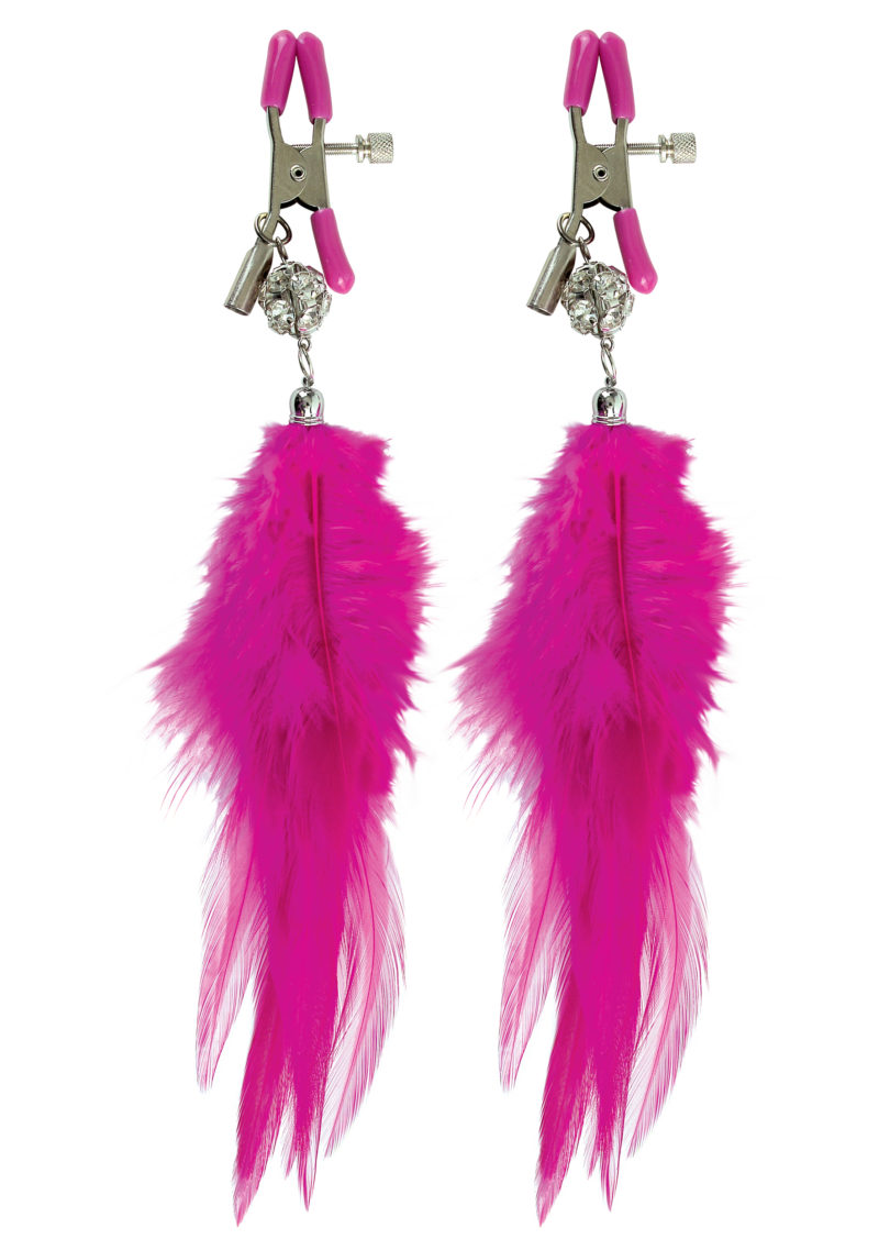 Pipedream Fetish Fantasy Fancy Feather Nipple Clamps