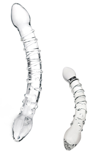 Glas Double Trouble Glass Dildo