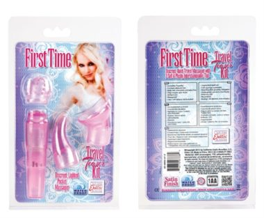 California Exotic First Time Travel Teaser Kit Pink