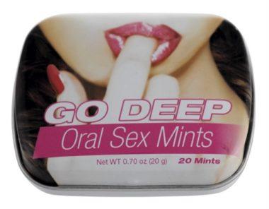 Topco Sales Go Deep Oral Sex Mints