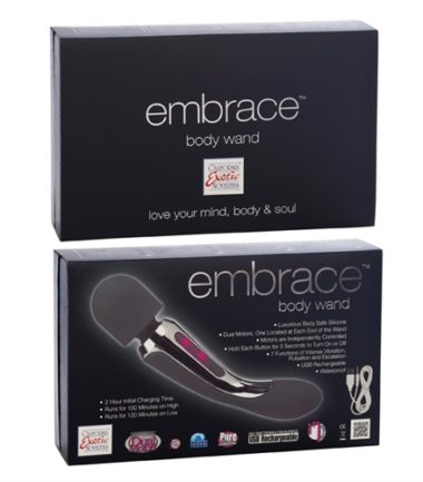 California Exotic Embrace Body Wand Grey