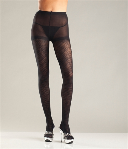 Be Wicked Multi Diamond Pattern Tights