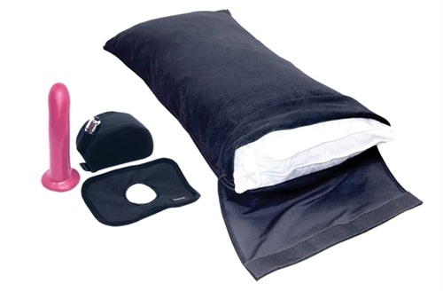 Sport Sheets Pillowcase Set With Silicone Dildo