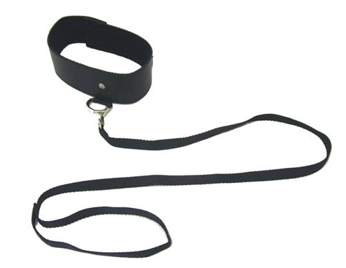 Sport Sheets Sex & Mischief Leash & Collar Black