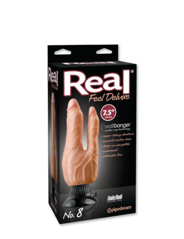 Pipedream Real Feel Deluxe No.8 7.5 Inch Double Dong Flesh