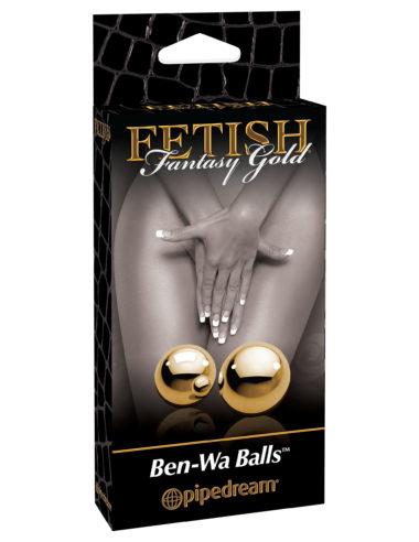 Pipedream Fetish Fantasy Gold Ben-Wa Balls