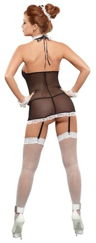 Magic Silk Maid To Order Black