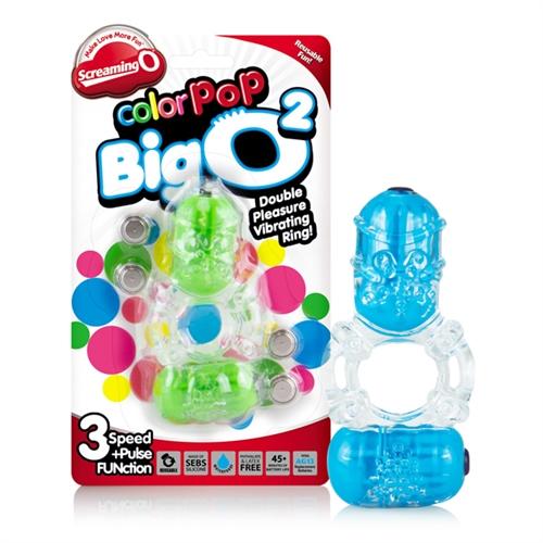 Screaming O Color Pop Big O2 Vibrating Ring