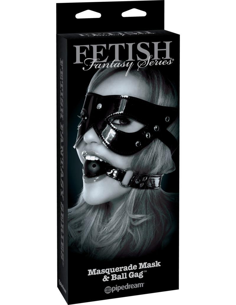 Pipedream Fetish Fantasy Masquerade Mask & Ball Gag