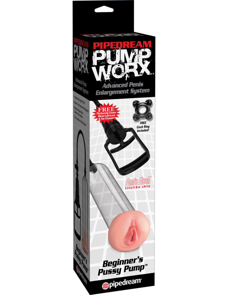 Pipedream Pump Worx Beginner's Pussy Pump