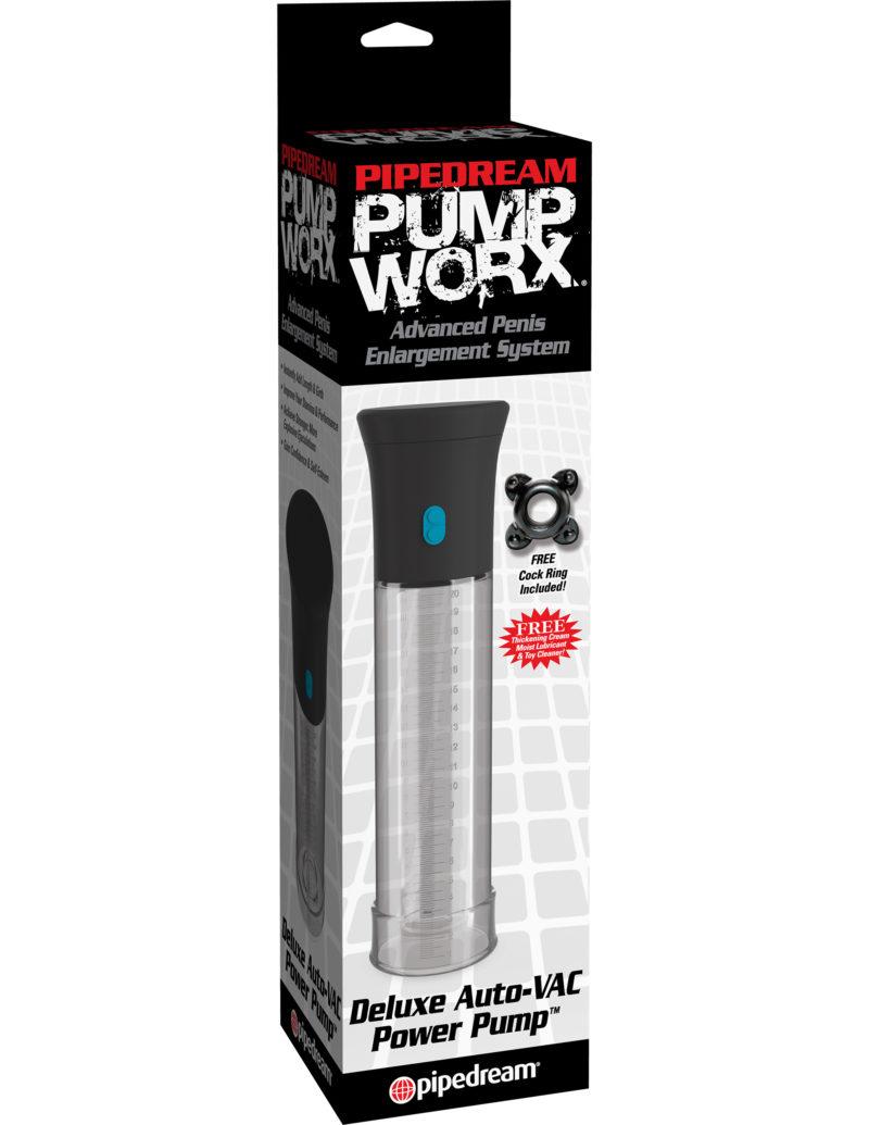 Pipedream Pump Worx Deluxe Auto-Vac Pump