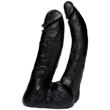 Doc Johnson Vac-U-Lock Code Black Double Penetrator