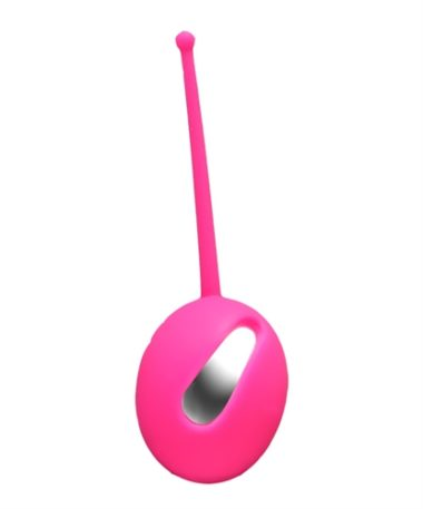 Vedo Plum Silicone Kegel Ball