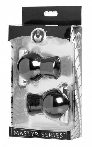 Master Series Reverb Vibrating Nipple Suckers