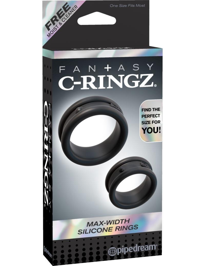 Pipedream Fantasy C-Ringz Max-Width Silicone Rings