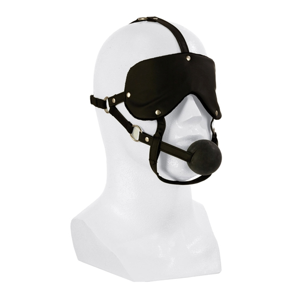 California Exotic Advanced Eye Mask & Ball Gag
