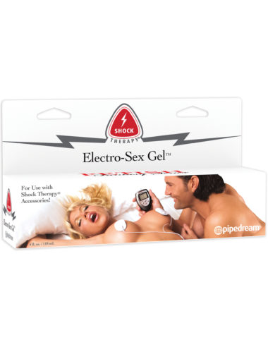 Pipedream Fetish Fantasy Shock Therapy Electro-Sex Gel